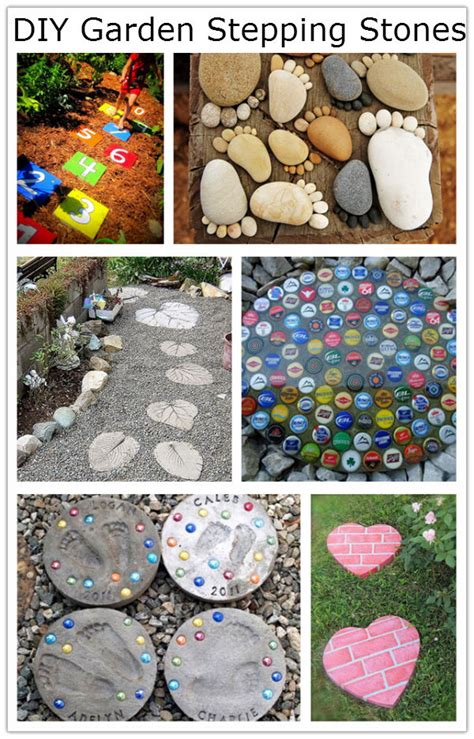 diy garden stepping stones diy amazing ideas