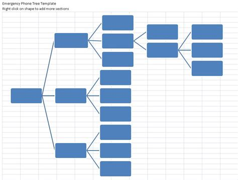 4 Phone Tree Templates  Excel Xlts