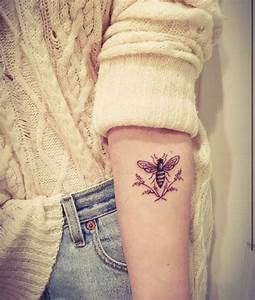 Bee tattoo | Ink & Inspiration | Pinterest | My mom, Mom ...