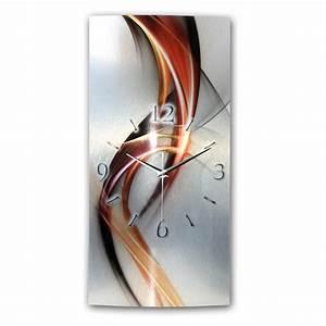Wanduhren Modern Design : wanduhr abstrakt metallic wag246fl ~ Michelbontemps.com Haus und Dekorationen