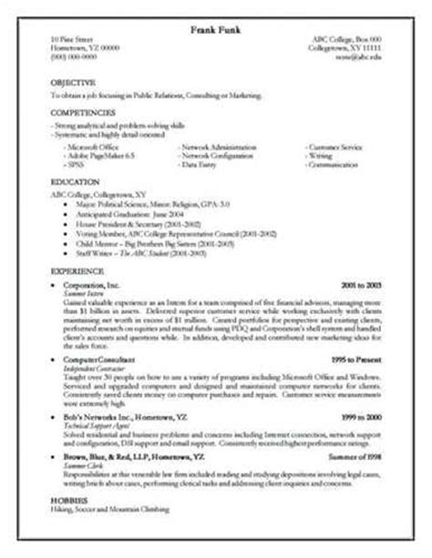how to create a resume ehow