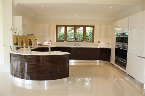 gloss kitchen ideas high gloss and macassar effect design matters