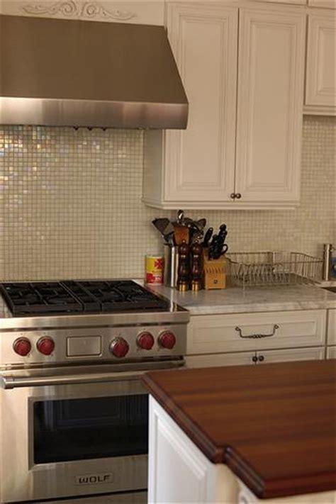 ivory glass tile backsplash glass tile backsplash transitional kitchen