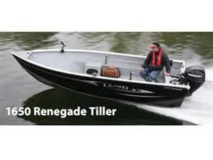 Aluminum Boats Tiller Images