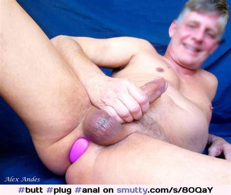 Alex Anders Anal Masturbation Butt Plug Butt Plug Anal