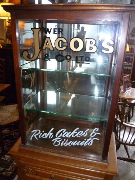 antique cake biscuit shop display cabinet kitchen ware