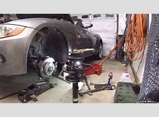 How to Replace Front Struts + Reinforcement Plates BMW