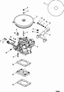 Mercruiser 4 3l Carburetor Alpha    Bravo Carburetor