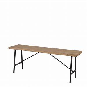 Banc Bois Metal : banc vintage bois m tal naturel old school meubles dining bench table et bench ~ Melissatoandfro.com Idées de Décoration