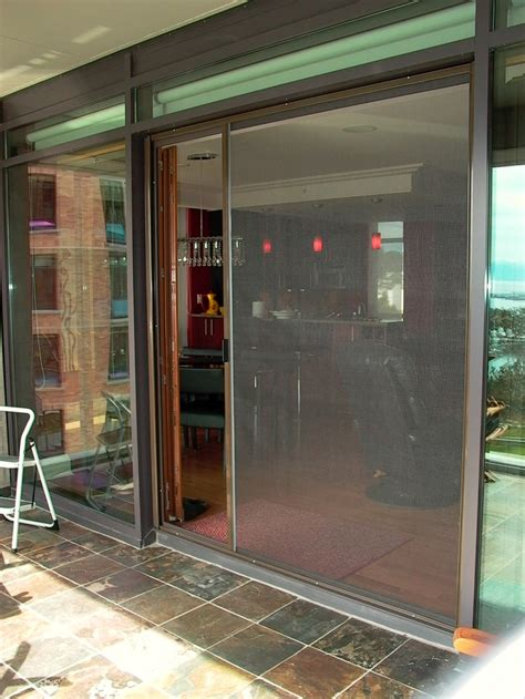 ultra glide patio door retractable screens bravo