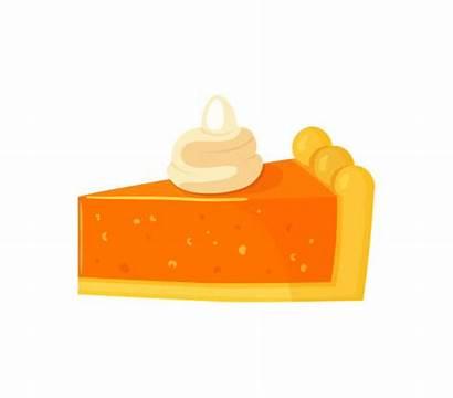 Pumpkin Cheesecake Clip Cake Illustrations Dessert Icons
