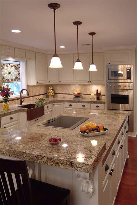 majestic white granite countertop kitchen