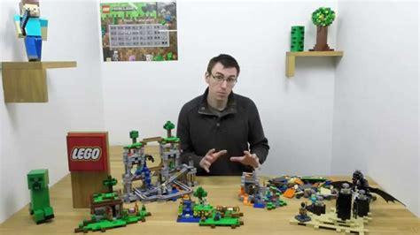 build  lego minecraft sets  lego minecraft youtube