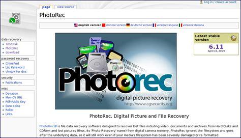 Supprimer Corbeille Du Bureau - comment utiliser photorec pour récupérer les photos et
