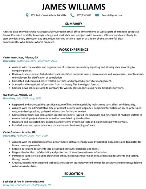 data entry resume samples ipasphoto
