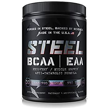 Amazon.com: Steel Supplements BCAA EAA Powder High