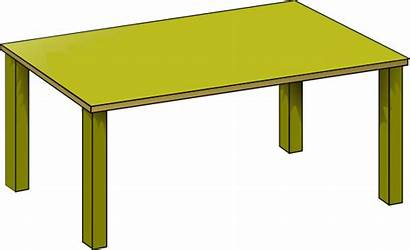 Table Gold Clipart Clip Clker Vector Cliparts