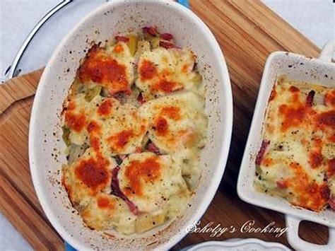 recette de gratin de poireaux 224 la mozzarella