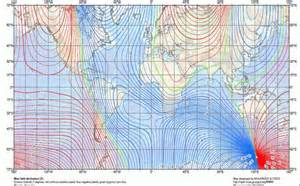 Magnetic Declination Map