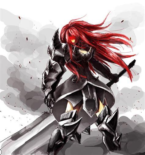 erza scarlet full armor sooooo badassd merchen anime
