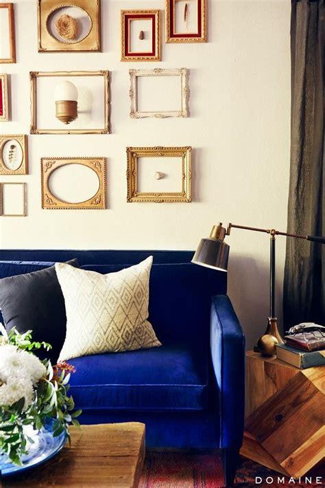 blue velvet sofa living room 21 different style to decorate home with blue velvet sofa