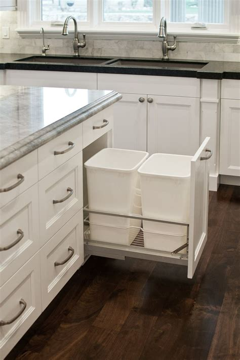 how to install kitchen island cabinets 8 ways to hide or dress up an kitchen trash can