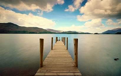 Dock Wallpapers Nature Sea 4k Backgrounds