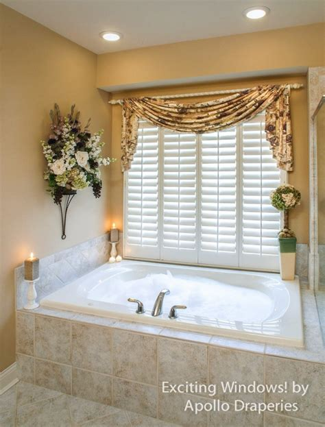 modern bathroom window curtains ideas inoutinterior