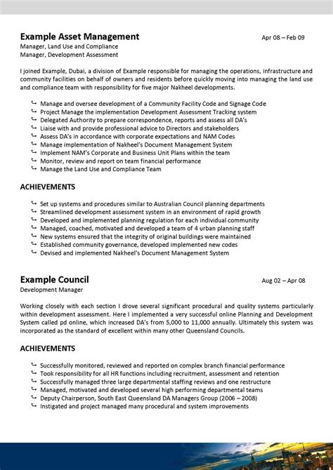 Town Planner Cv by We Can Help With Professional Resume Writing Resume