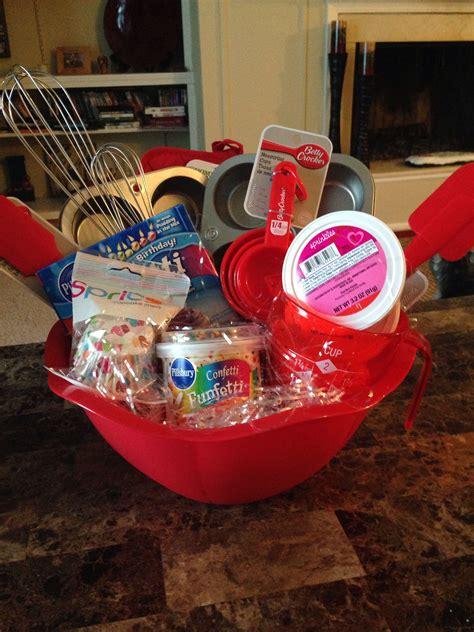 cupcake gift basket baking gift basket gift baskets