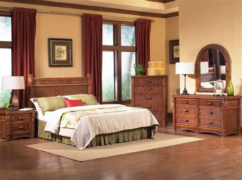 Barbados Rattan Bedroom Furniture  Tropical Bedroom