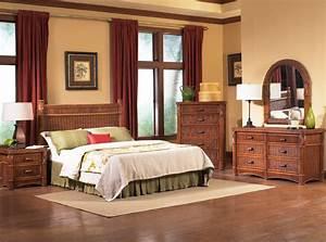 Barbados rattan bedroom furniture tropical bedroom for Wicker bedroom furniture