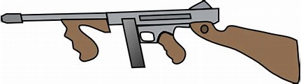 Thompson submachine gun clipart 20 free Cliparts ...