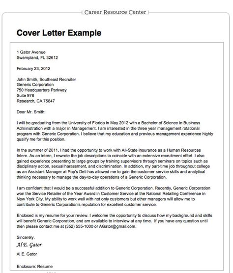Cover Letter To A Resume by 301 Moved Permanently