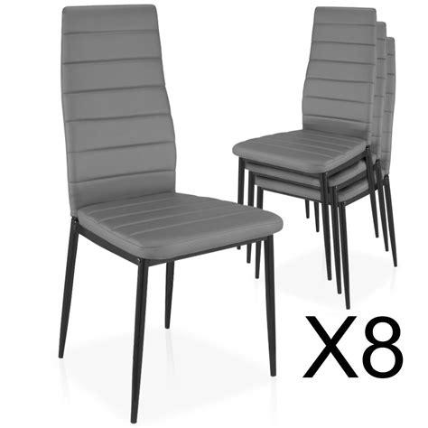 m chaises lot de 8 chaises empilables gris chaise empilable