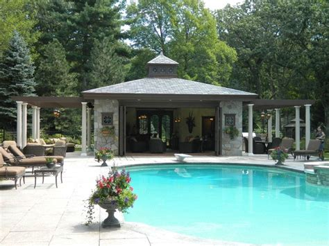 20 Beautiful Pool House Designs