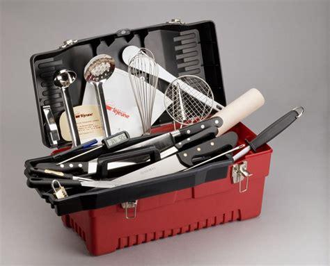 malette de cuisine pour apprenti mallette plastichef 24 pièces traiteur
