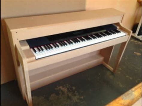 piano shell  scratch   electric