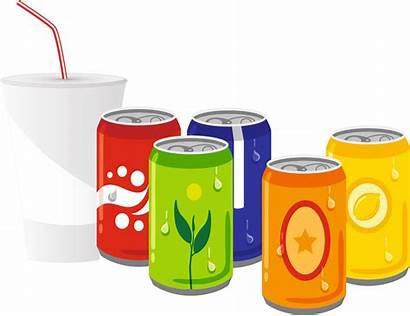 Drinks Drink Soft Clipart Cold Beverage Cartoon