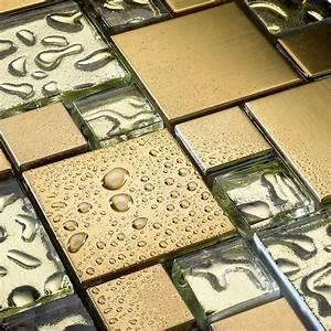 Mosaik Fliesen Frostsicher : glas mosaik fliesen edelstahl vergoldet mosaik ~ Eleganceandgraceweddings.com Haus und Dekorationen