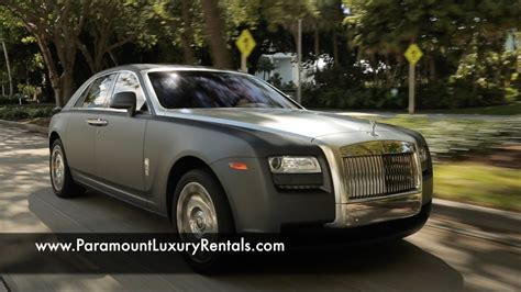 Rolls Royce Ghost  Exotic And Luxury Car Rental In Miami