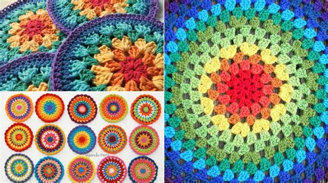 easy gorgeous crochet mandala  patterns video