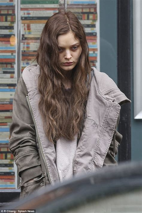 Fifty Shades Of Grey Images Bella Heathcote Gets Into The Character Of Leila Williams On Fifty Shades Darker Set Daily