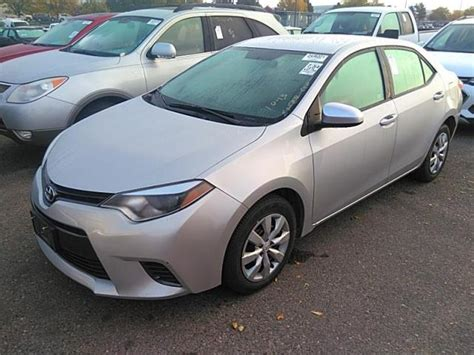 Used 2016 Toyota Corolla L Car For Sale At Auctionexport