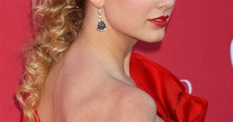 Taylor Swift Nipple Slip At 44th Annual Academy Of Country