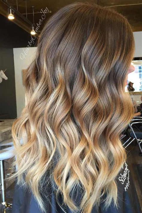 50 Balayage Hair Ideas In Brown To Caramel Tone