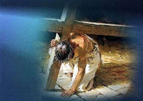 Jesus Carrying The Cross Wallpaper