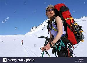 Woman Mountaineer Ascends from Eagle to Whiteout Glacier ...