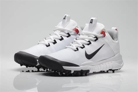 Tiger Woods x Nike Free Golf Shoe Prototype - White   Sole ...