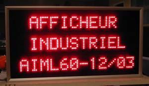 Panneau Lumineux Message : afficheurs industriels serie aiml ~ Teatrodelosmanantiales.com Idées de Décoration